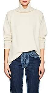 Barneys New York Women's Oversized Cashmere Turtleneck Sweater-Ivorybone