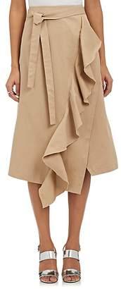 Robert Rodriguez Women's Ruffle-Trimmed A-Line Skirt