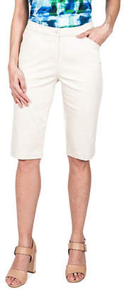 Haggar Bermuda Stretch Shorts