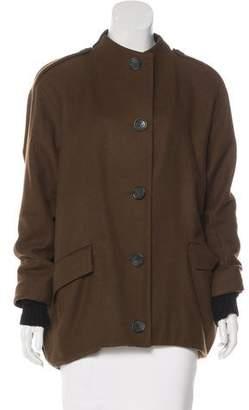Dagmar Wool Button-Up Coat