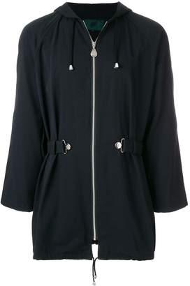 Jean Paul Gaultier Pre-Owned belted hooded jacket