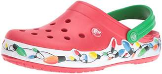 crocs Unisex Crocband Holiday Lights Clog Mule $32.99 thestylecure.com
