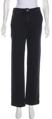 Masscob Mid-Rise Straight-Leg Pants w/ Tags grey Mid-Rise Straight-Leg Pants w/ Tags