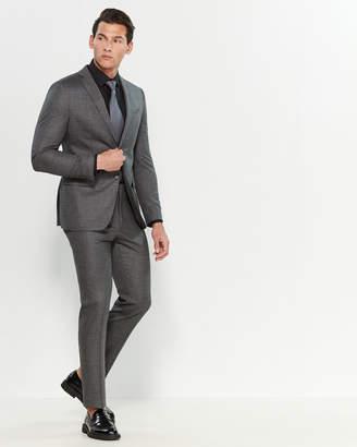 John Varvatos Bedford Straight Two-Piece Wool Suit