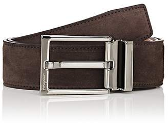 Salvatore Ferragamo Men's Suede Belt