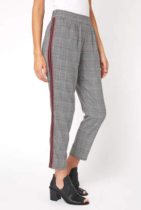 Willow & Clay Plaid Tapered Pant