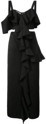 Proenza Schouler Sleeveless Ruffle Dress