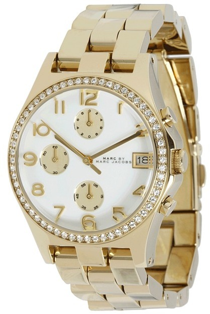 Marc by Marc Jacobs Jazzy Classic Henry Chronograph Glitz