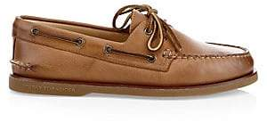 Sperry Men's Gold Cup Authentic Original Burnished Leather Boat Shoes