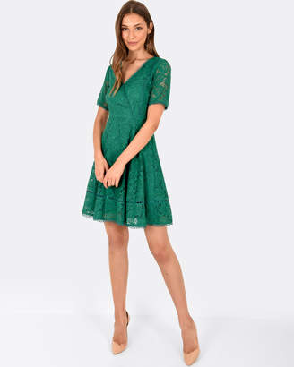 Forcast Wonda A-line Lace Dress