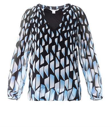 Diane von Furstenberg Maiko blouse