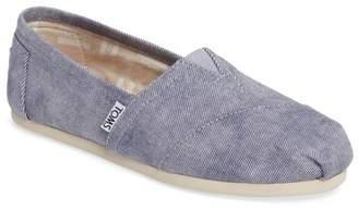 TOMS Twill Alpargata Slip-On Sneaker $55 thestylecure.com