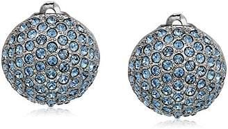 "Nina Pave"" E-Aliona Clip-On Earrings"