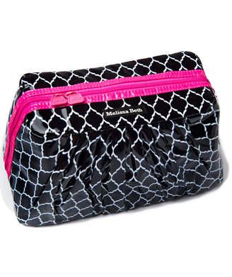 Melissa Beth Hot Pink Pretty Pleats Cosmetic Case