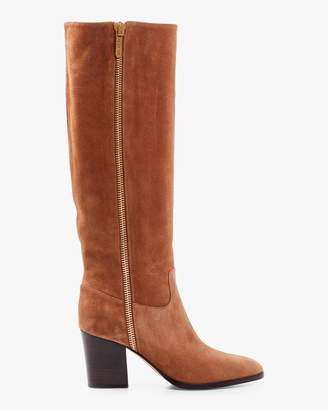 Sergio Rossi Suede Tall Boot