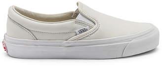 Vans OG Classic Slip-On LX in White | FWRD
