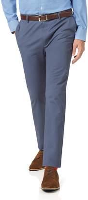 Charles Tyrwhitt Blue Extra Slim Fit Stretch Cotton Chino Pants Size W30 L30