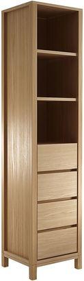 Soundslike HOME Display Cabinets Solid Display Rack, SLH European Oak