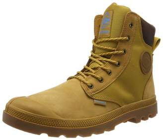 Palladium Unisex Adults' Spor Cuf Wpn U Boots Jaune (846 Amber Gold/Mid Gum) 10.5 UK