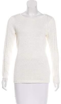 Rachel Zoe Long Sleeve Open Knit Top