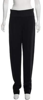 Lanvin Zipper-Accented Wool Pants
