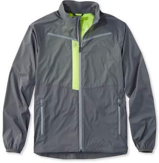 L.L. Bean L.L.Bean Ridge Runner Light-Up Running Jacket, Color Block