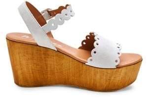 Matisse Chrysler Suede Wedge Sandals