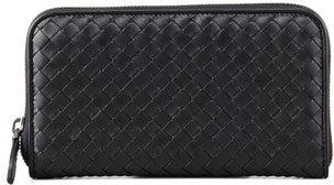Bottega VenetaBottega Veneta Continental Zip-Around Wallet, Black