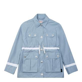 Women's Light Blue Refined Garden Jacket