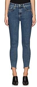Rag & Bone Women's High Rise Ankle Skinny Jeans - Blue