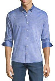Slim-Fit Non-Iron Micro-Dobby Sport Shirt