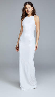 Galvan London Salar Column Dress