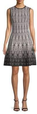 Ronny Kobo Brianna Printed A-Line Dress