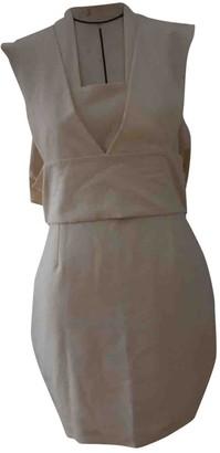 Aq/Aq Aqaq Beige Dress for Women
