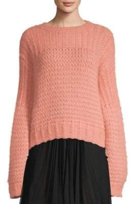 Coach Alpaca Wool-Blend Knit Sweater