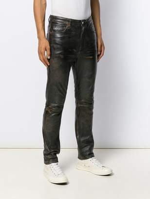 Golden Goose paneled regular trousers