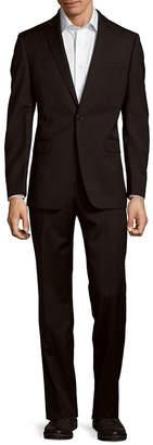 Calvin Klein Textured Wool Suit