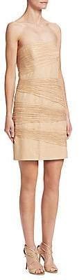 Halston Women's Layered Sheath Dress
