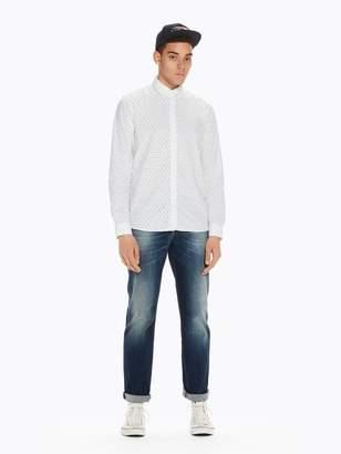 Scotch & Soda Printed Cotton Shirt | Slim fit