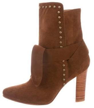 Ulla Johnson Suede Aggie Booties