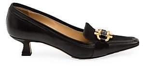 Bottega Veneta Women's Lux Calf Hair Leather Loafers