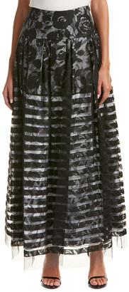 Sachin + Babi Noir Burnout Maxi Skirt