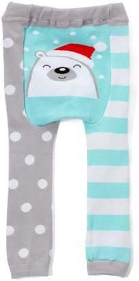 Doodle Pants Holiday Polar Bear Leggings (Baby)