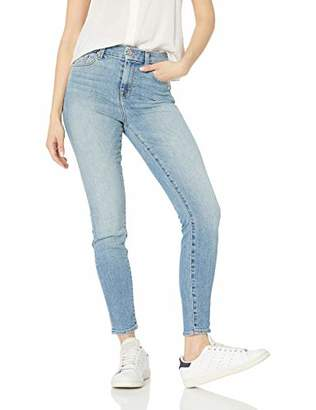 7 For All Mankind Women's Skinny High Waist Light Wash Jean Ankle Pant