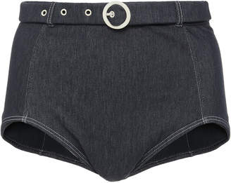 Solid & Striped Jean Denim Bikini Briefs