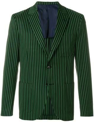 Piombo Mp Massimo Picasso striped blazer