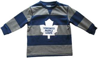 Mighty-Mac Mighty Mac Toronto Maple Leafs Youth Rugby Stripe Long Sleeve T-Shirt