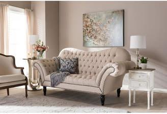 Baxton Studio Wholesale Interiors Bostwick Classic Victorian Sofa