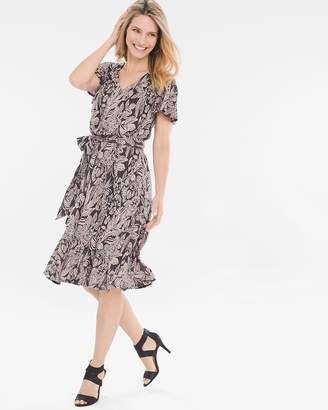 Tropical Knit Dress