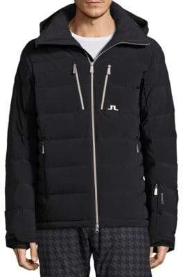 J. Lindeberg Ski Watson Down Hooded Ski Jacket